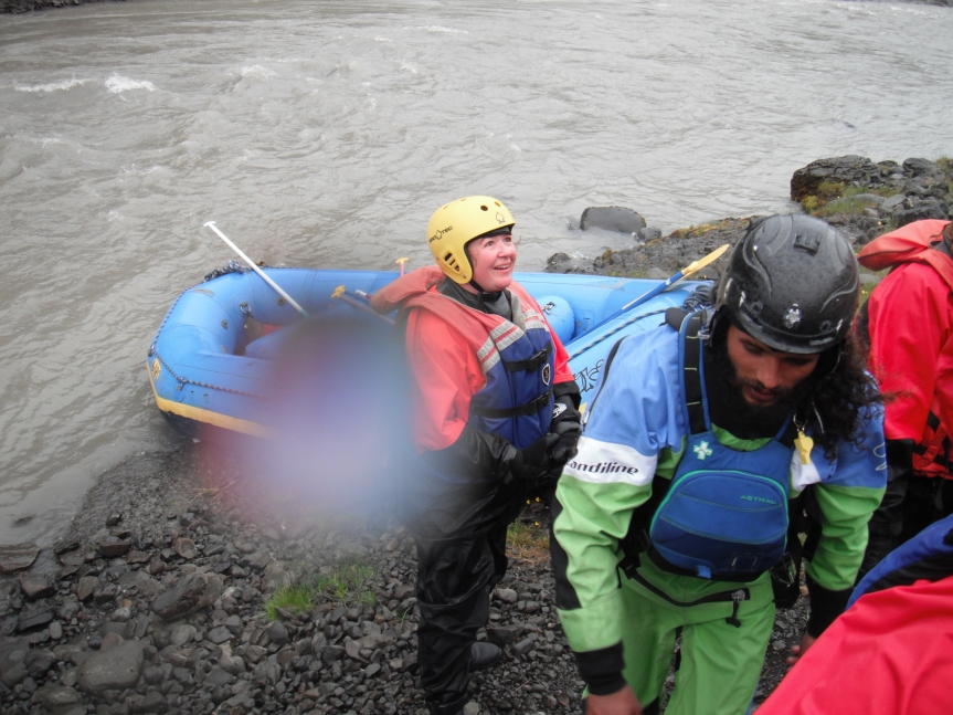 #Iceland: Murder mysteries and rafting on a glacial river