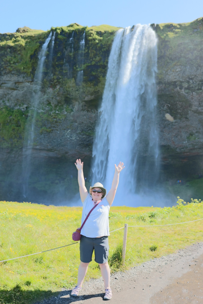 #Iceland: Seljalandsfoss,Vik, and prawns