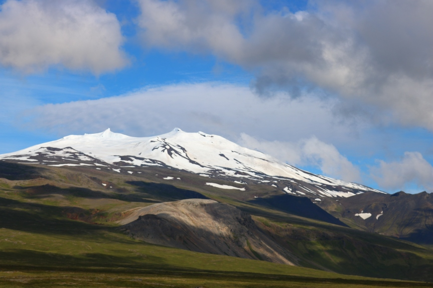 West to Snaefellsjokull #Iceland