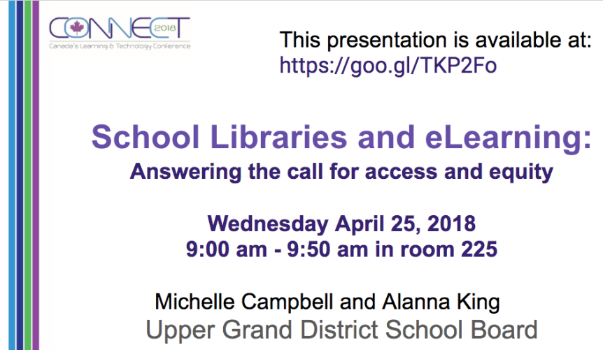 School libraries and eLearning: Answering the call for access andequity